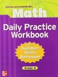 Book Cover Macmillan/McGraw-Hill Math, Grade 6, Daily Practice Workbook (MMGH MATHEMATICS)