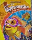 Book Cover California Mathematics Student Text Grade K (Concepts, Skills, and Problem Solving, Volume 1)