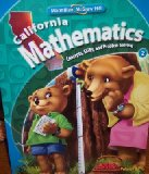 Book Cover California Mathematics Grade 2 (Volume 1)