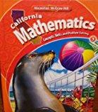 Book Cover California Mathematics Grade 3 (Concepts, Skills, and Problem Solving)