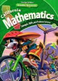 Book Cover California Mathematics Teacher Edition Grade 4 (Concepts, Skills, and Problem Solving, Volume 1)