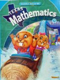 Book Cover TEXAS MATHEMATICS 2 VOL.1 (P)