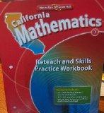 Book Cover California Mathematics Reteach and Skills Practice Workbook Grade 1
