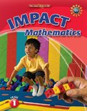 Book Cover Math Connects, Grade 1, IMPACT Mathematics, Student Edition