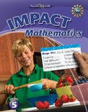Book Cover Math Connects, Grade 5, IMPACT Mathematics, Student Edition