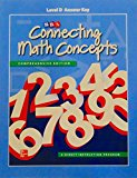 Book Cover Connecting Math Concepts Level D, Additional Answer Key