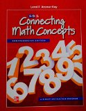 Book Cover Connecting Math Concepts Level F, Additional Answer Key