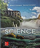 Book Cover Cunningham Environmental Science: A Global Concern - Ap Edition