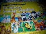 Book Cover Treasures Workstation Flip Chart: Science/Social Studies Kindergarten