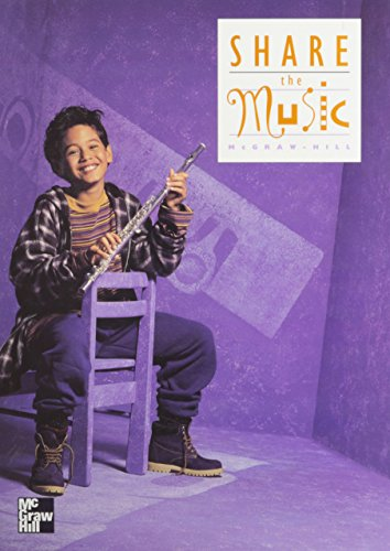Book Cover Share the Music, Grade 4