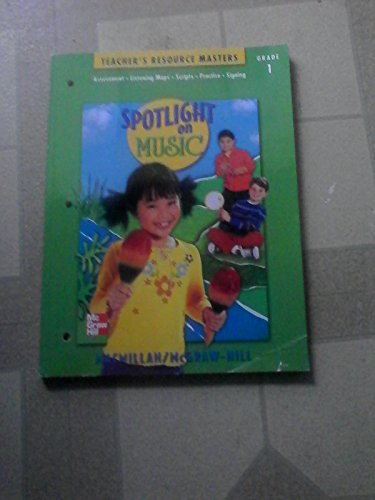 Book Cover Spotlight on Music (Teacher's Resource Masters, Grade 1)