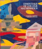 Book Cover Essentials of College Mathematics for Business, Economics, Life Sciences and Social Sciences (3rd Edition)