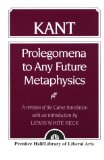 Book Cover Kant: Prolegomena to Any Future Metaphysics