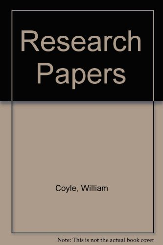Book Cover Research Papers