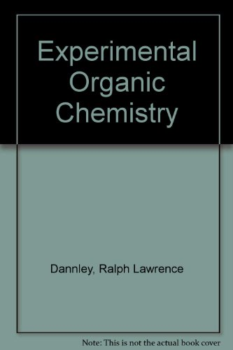 Book Cover Experimental Organic Chemistry