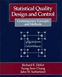 Book Cover Statistical Quality Design and Control: Contemporary Concepts and Methods