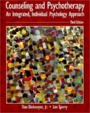 Book Cover Counseling and Psychotherapy: An Integrated, Individual Psychology Approach (3rd Edition)