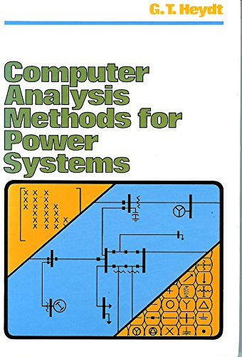 Book Cover Computer Analysis Methods for Power Systems