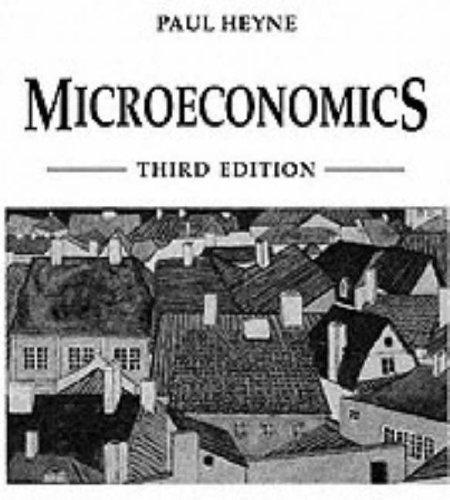 Book Cover Microeconomics