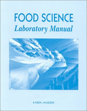 Book Cover Food Science Laboratory Manual