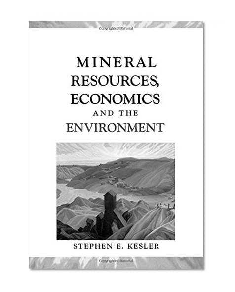 Book Cover Mineral Resources, Economics, and the Environment