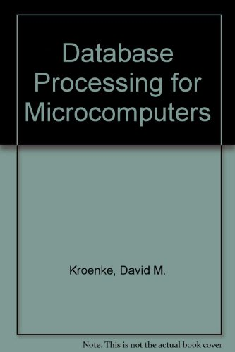 Book Cover Database Processing for Microcomputers
