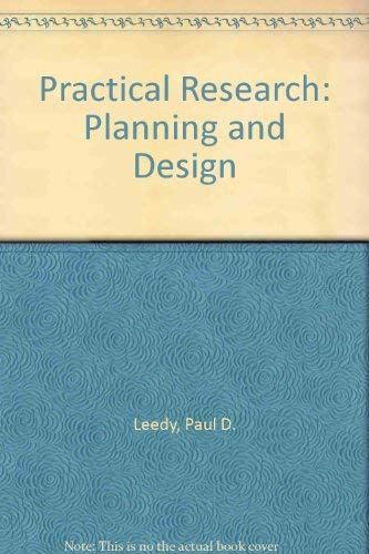 Book Cover Practical Research: Planning and Design