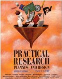 Book Cover Practical Research, Planning &Design - 5th edition