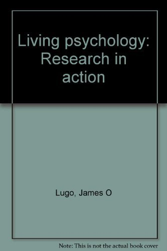 Book Cover Living psychology: Research in action