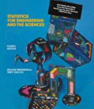 Book Cover Statistics for Engineering and the Sciences (4th Edition)