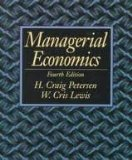 Book Cover Managerial Economics