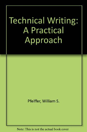 Book Cover Technical Writing: A Practical Approach