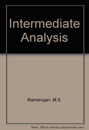 Book Cover Intermediate Analysis