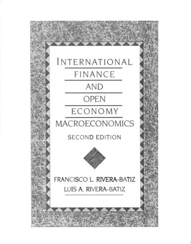 Book Cover International Finance and Open Economy Macroeconomics (2nd Edition)