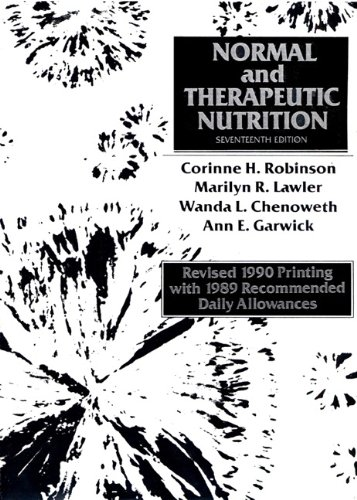 Book Cover Normal and Therapeutic Nutrition, Revised (17th Edition)