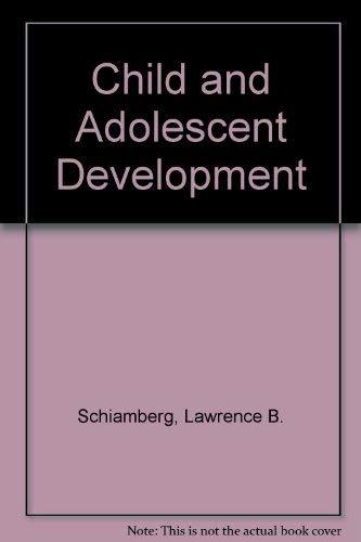 Book Cover Child and Adolescent Development