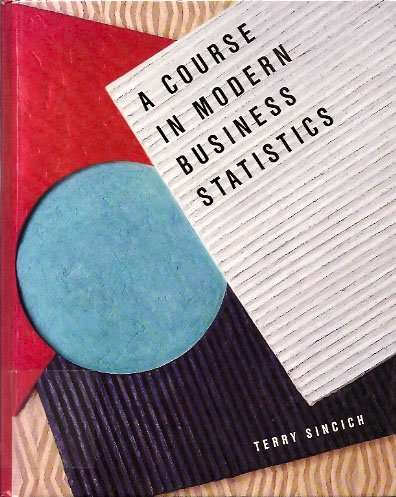 Book Cover A Course in Modern Business Statistics