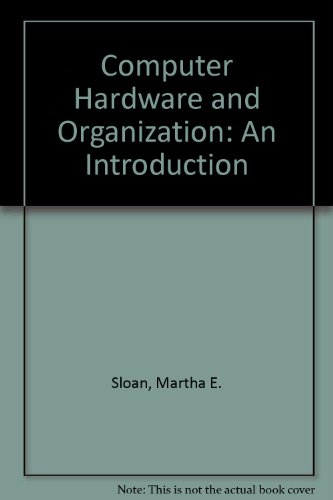 Book Cover Computer Hardware and Organization: An Introduction