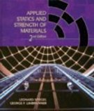 Book Cover Applied Statics and Strength of Materials (Merrill's International Series in Engineering Technology)