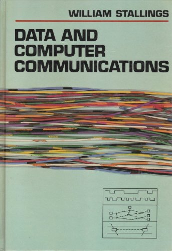 Book Cover Data and Computer Communications