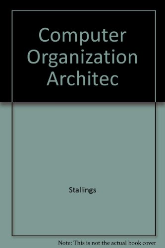 Book Cover Computer Organization Architec