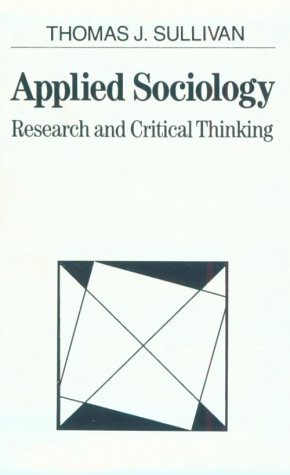 Book Cover Applied Sociology: Research and Critical Thinking