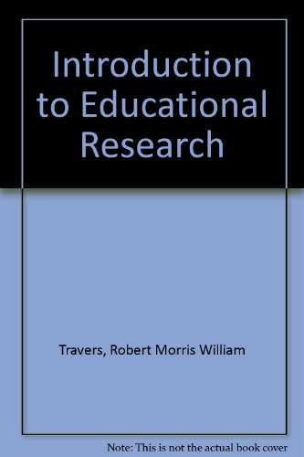 Book Cover Introduction to Educational Research