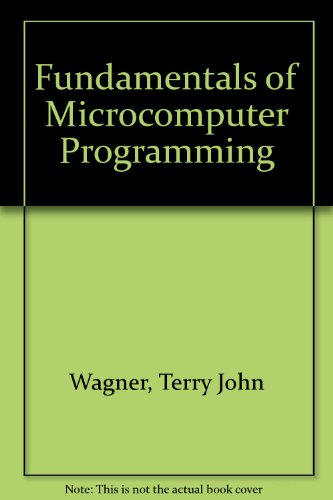 Book Cover Fundamentals of Microcomputer Programming