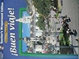Book Cover GLENCOE SPANISH 1B BUEN VIAJE! Teacher's Wraparound Edition (Multimedia Edition)