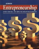 Book Cover Entrepreneurship and Small Business Management: Student Edition