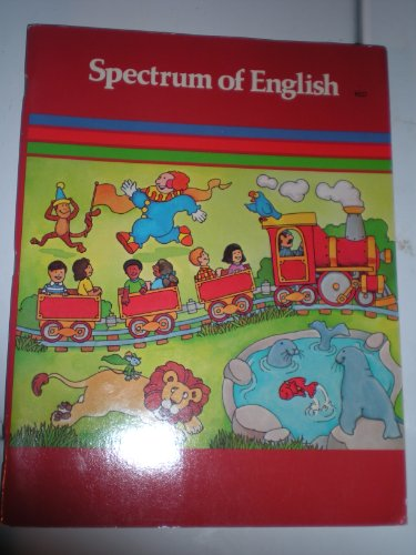 Book Cover Spectrum of English: Language, Composition, Dramatic Expression (Red)