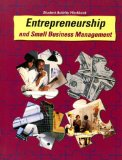 Book Cover Entrepreneurship and Small Business Management Student Activity Workbook