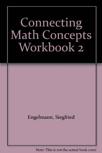 Book Cover Connecting Math Concepts - Workbook 2 - Level A
