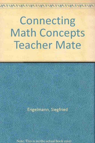 Book Cover Connecting Math Concepts - Teacher Material Package - Level D